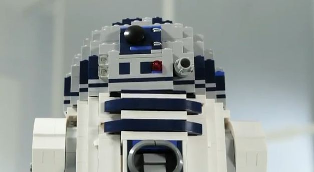 LEGO  R2-D2 Star Wars 10225  YouTube