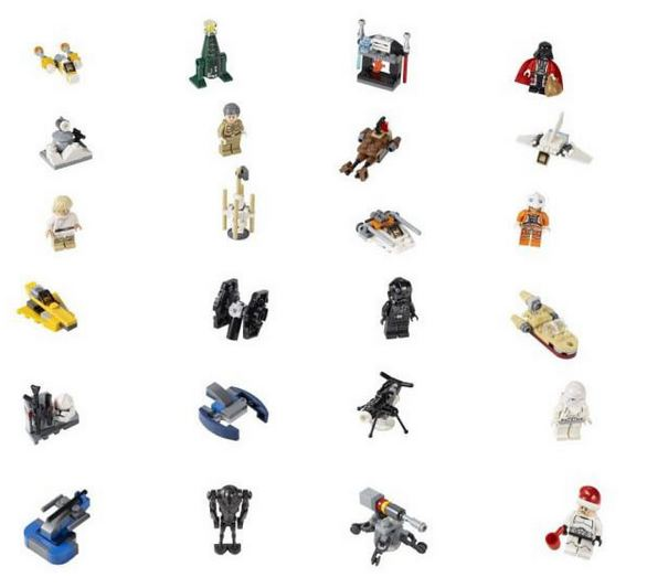 LEGO STAR WARS Adventskalender 2014 Minifiguren 75056