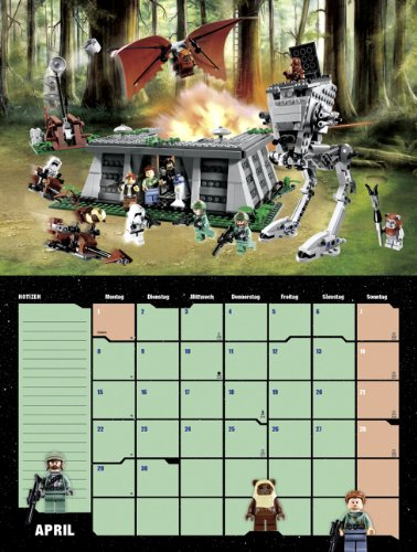 LEGO Star Wars 2013 Broschur XL Amazon Produkttest Monatsblatt April 2013