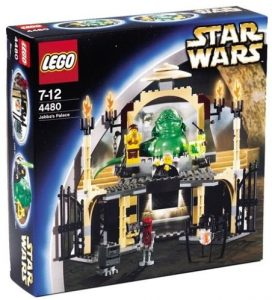 LEGO Star Wars 4480 Jabbas Palast Jabba the Hutt Amazon