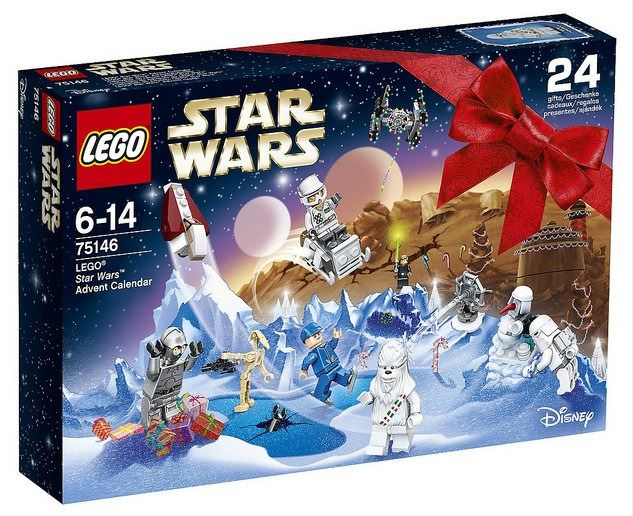 LEGO Star Wars Disney Adventskalender 2016 75146