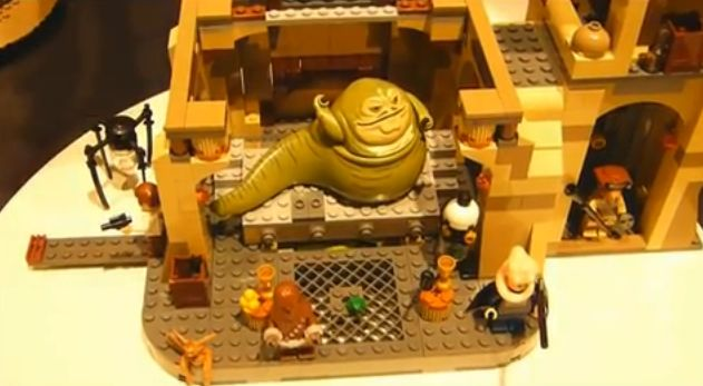 LEGO Star Wars Jabbas Palast YouTube amazon Jabba the Hutt Amazon