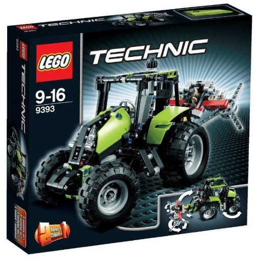 LEGO Technic 9393 - Traktor Amazon Produkttest Test