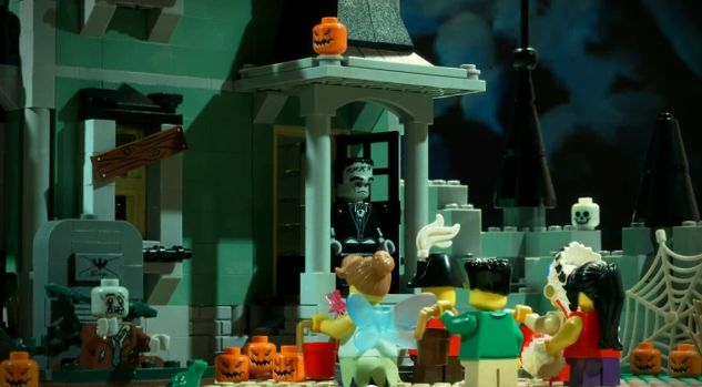 LEGO YouTube Halloween Style