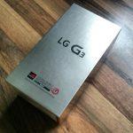 LG G3 Karton Unboxing Test