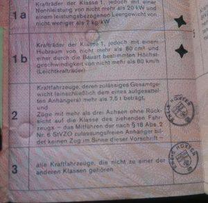 LKW Führerschein Marc Höttemann 1998