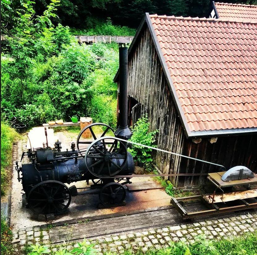 LWL Freilichtmuseum Hagen Industrie Handwerk Sägemühle Ölmühle