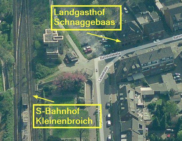 Landgasthof Schnaggebaas S-Bahn Kleinenbroich Twittagessen
