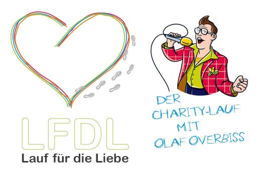 Lauf für die Liebe LFDL Logo Olaf Overbiss