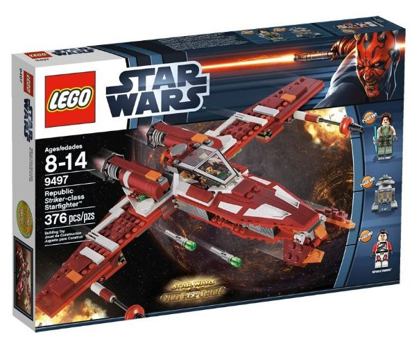 Lego 9497 - Star Wars Republic Striker - class Starfighter Amazon Sommerset 2012