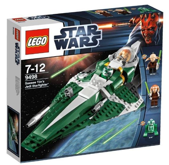 Lego 9498 - Star Wars Saesee Tiins Jedi Starfighter Sommerset 2012 Amazon