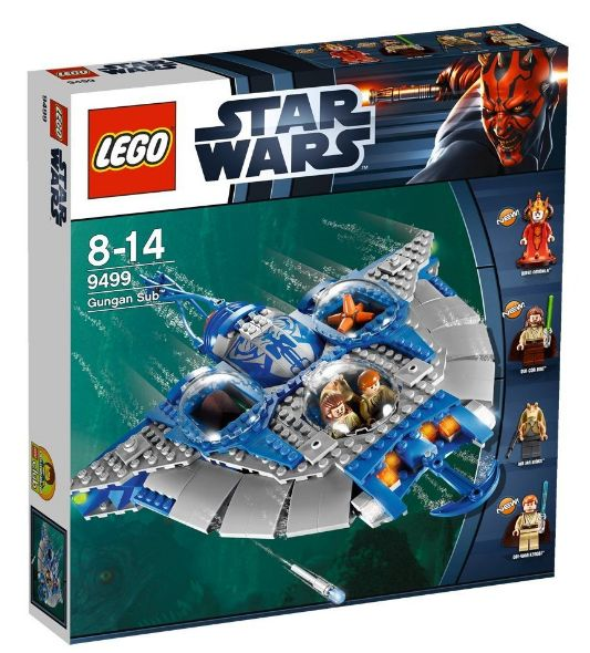 Lego 9499 - Star Wars Gungan Sub Amazon Sommerset 2012