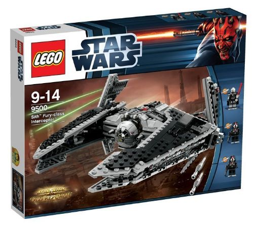 Lego 9500 - Star Wars Sith Fury - Class Interceptor Amazon Sommerset 2012