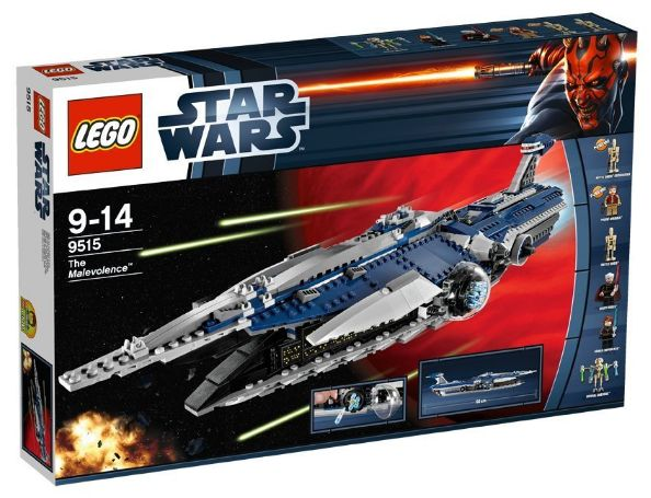 Lego 9515 - Star Wars The Malevolence Amazon Sommerset 2012