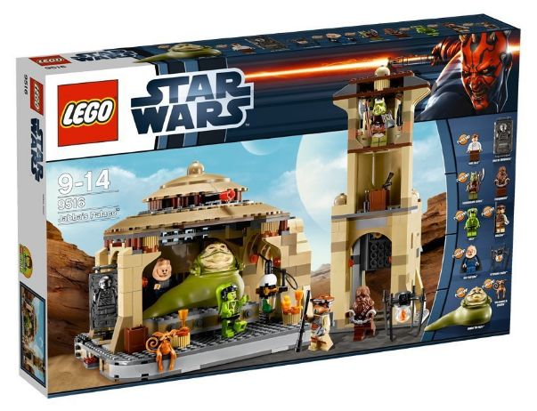 Lego 9516 - Star Wars Jabba's Palace Amazon Sommerset 2012