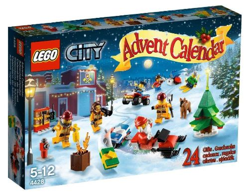 Lego City 4428 - Adventskalender Amazon