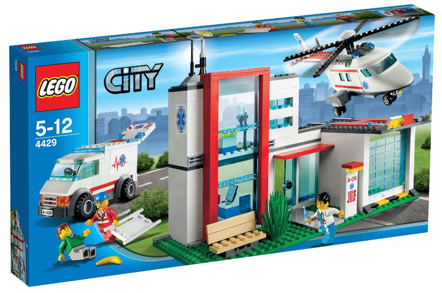 Lego City 4429 - Helikopter Rettungsbasis Produkttest Review Test