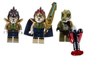 Lego Legends of Chima 70005 - Lavals Löwen-Quad  Minifiguren