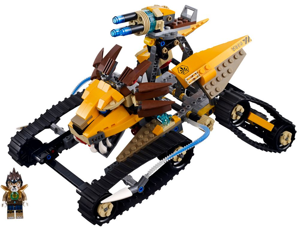 Lego Legends of Chima 70005 - Lavals Löwen-Quad Modell Produkttest