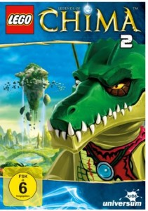 Lego Legends of Chima - DVD 2 Amazon Test Rezension Cover Produkttest