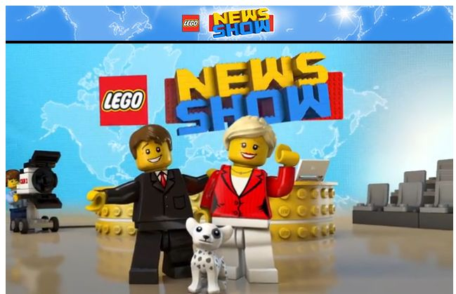 Lego News Show Video