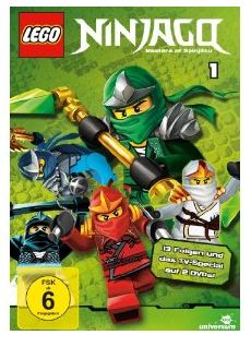 Lego Ninjago - Staffel 1 [2 DVDs] Amazon Test Review Rezension Cover Produkttest