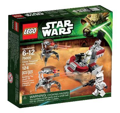 Lego Star Wars 75000 - Clone Trooper vs. Droidekas Amazon