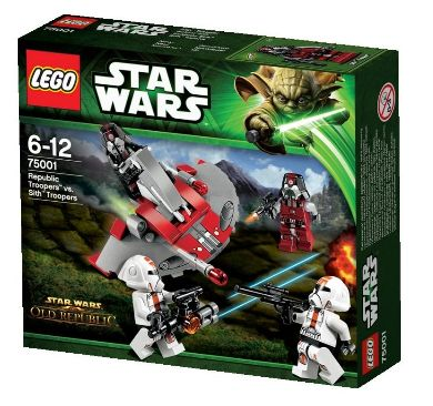 Lego Star Wars 75001 - Republic Troopers vs. Sith Troopers Amazon