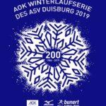 Logo AOK Winterlaufserie ASV Duisburg