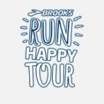 Logo Brooks Run Happy Tour