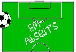 Logo EM-Abseits 2012 Blogparade