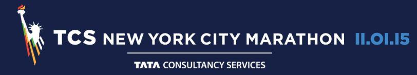 Logo New York City Marathon 2015