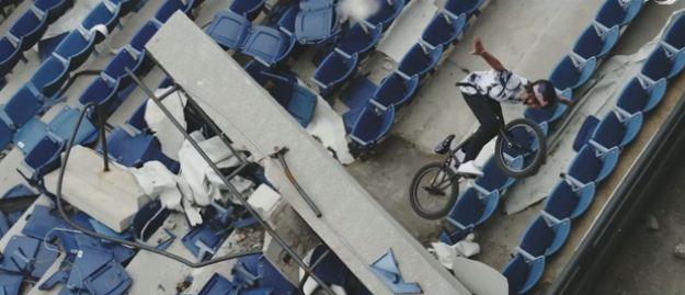 Lost Place Silverdome Detroit BMX