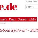 Männer, die Skateboard fahren - Stellungnahme der Redaktion - BRIGITTE