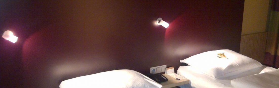 Mövenpick Hotel an der Frankfurt Messe Zimmer Doppelzimmer Bett
