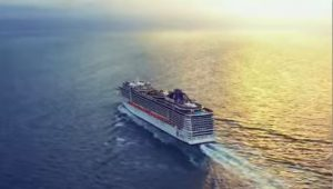 MSC Kreuzfahrten Sonnenuntergang Meer