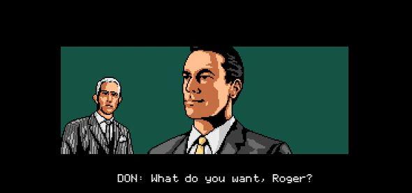 Mad Man 8-Bit Spiel Don Draper Video YouTube