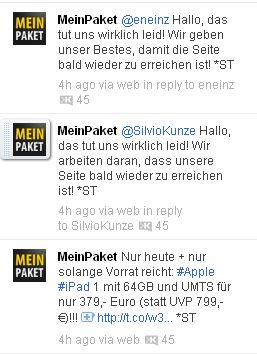 MeinPaket iPad 64 GB UMTS