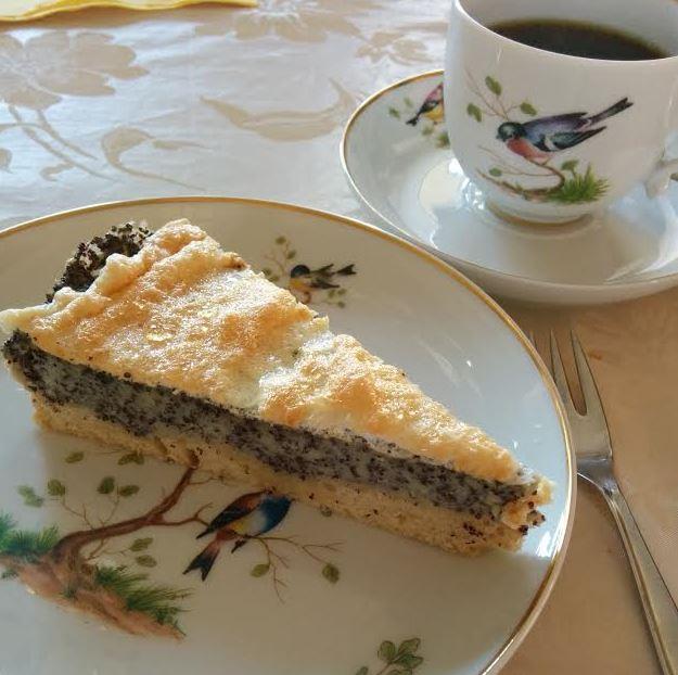 Mohnkuchen a la Mum Rezept Bandolino Fürstenberg Kaffee Kuchen