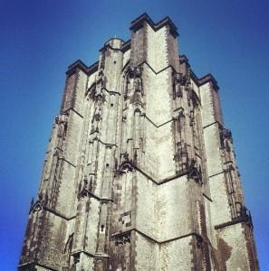 Monstertoren Münsterturm Kirche Zierikzee Zeeland Holland Niederlande