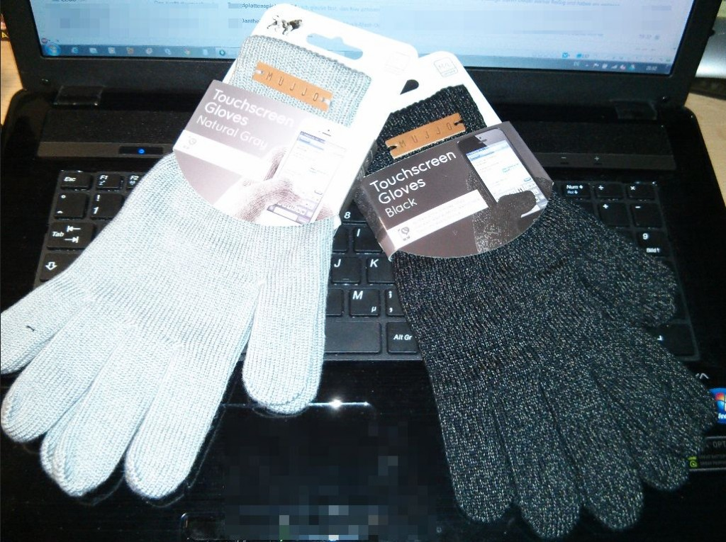 Mujjo Touchscreen Gloves für iPhone iPad Smartphones
