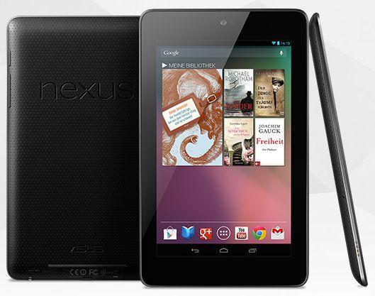 Nexus 7 Asus Google Play Store amazon.de online bestellen Finanzierung