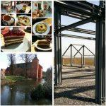 Niederrhein Collage Schloss Bloemersheim Herwix-Hof Rheurdt Halde Norddeutschland