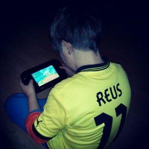 Nintendo Wii U GamePad schwarz New Super Mario Bros. U Liam BVB