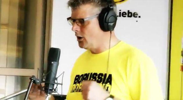 Norbert Dickel Borussia, schenk' uns die Schale komplettes Video YouTube BVB Dortmund Borussia Dortmund Deutscher Meister 2012
