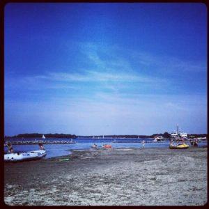 Oranjeplaatweg Oranjeplaat Versemeer Baden Strand Wasser Meer Zeeland Niederlande Holland