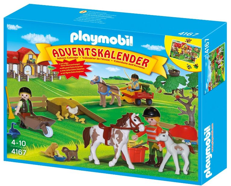PLAYMOBIL 4167 - Adventskalender Reiterhof Amazon Produkttest
