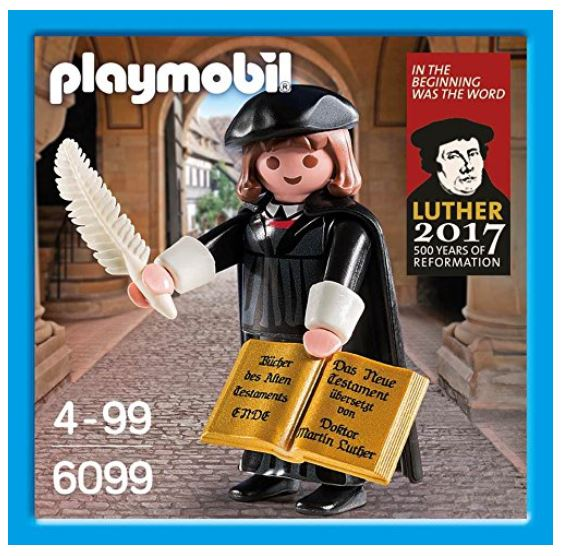 PLAYMOBIL 6099 - Martin Luther_ 500 Jahre Reformation 1517-2017 Verpackung