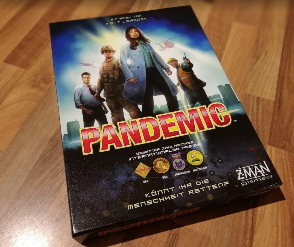 Pandemic Asmodee Cover