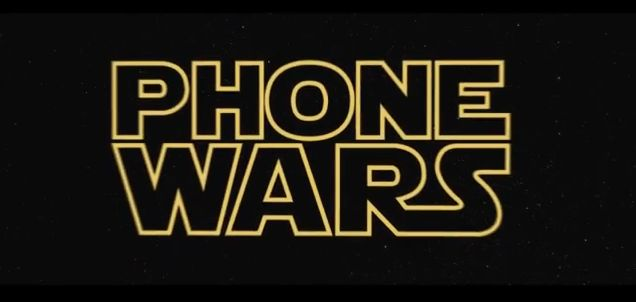 Phone Wars - Apple vs Android Screenshot YouTube Video